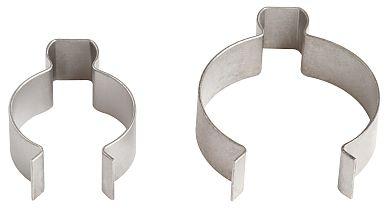 Clips de montage rapide pour différents diamètres de tuyauterie