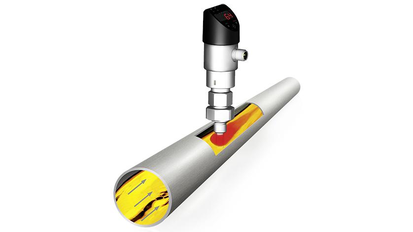 Capteur de débit calorimétrique