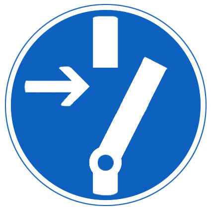 symbole de commutation pour les pressostats