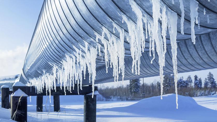 Niedrige Umgebungstemperaturen