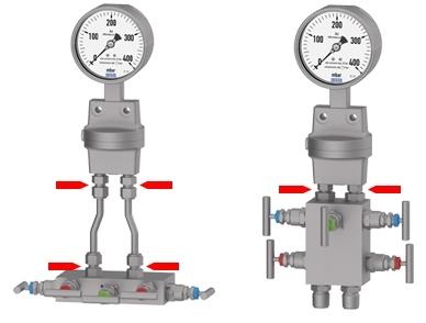 La différence entre ces dispositifs de mesure et les manomètres différentiels