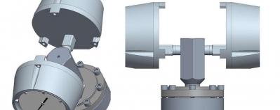 Double montage sur séparateur de manomètres