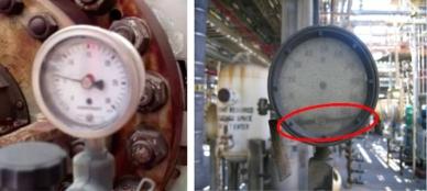 Effets des vibrations mécaniques sur le manomètre