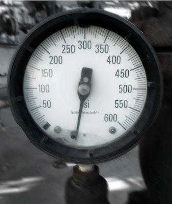 Effet de la surpression sur les manomètres mécaniques